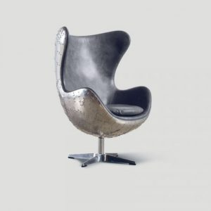 steel leather Armchair
