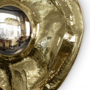 Golden Salon Decoration Mirror