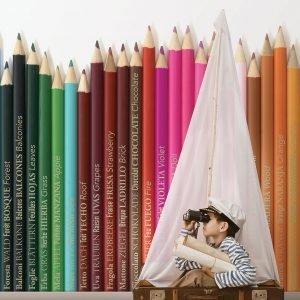 My Coloring Pens Kids Wallpaper