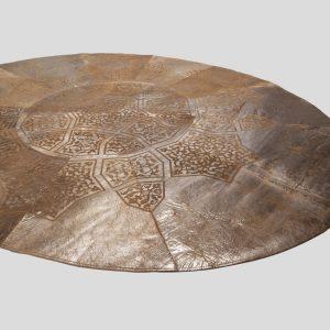 leather rug
